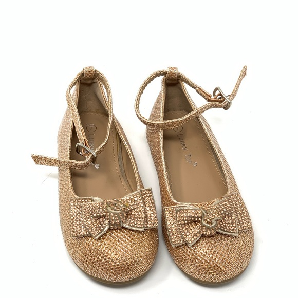 Lucky Top Other - Lucky top glitter shoes for toddler girl size 7